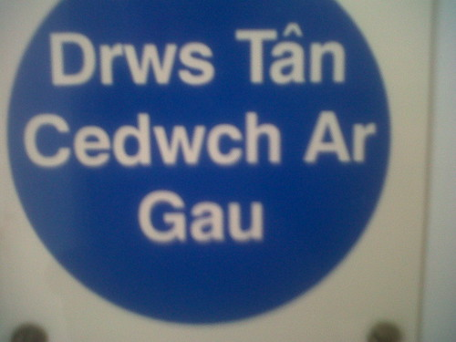 If you can read this, your welsh