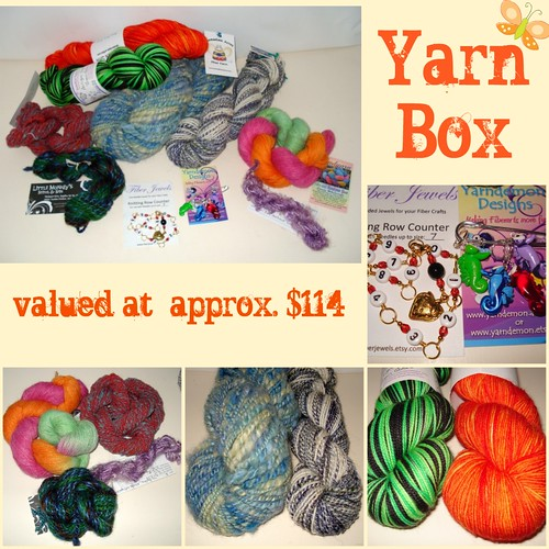 July F.I.X. Co-op Drawing Yarn Box by bluemtnhandcrafts