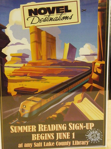 Summer reading promotion - Herriman Library, Salt Lake County Library Services