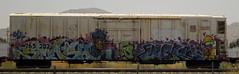 SMASH FS LACK (QsySue) Tags: railroad train graffiti smash tag traintracks wideangle colton traincar cropped dslr rialto fs lack railroadtracks railroadcar sigma1020mm inlandempire 10freeway sanbernardinocounty superwide nikond200