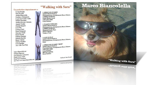 "Marco Biancolella, ""Walking with Sara"" cd cover"