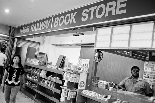 Bookstore at the KTM Tanjong Pagar Railway Station