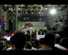Belgrade yesterday (Aleksandar Shavikin) Tags: people serbia tennis tenis belgrade beograd novak nole srbija