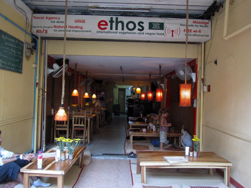 Ethos Vegetarian Food, Bangkok, Thailand