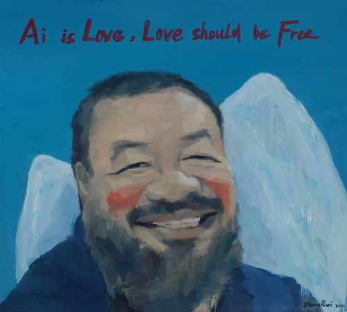 Ai is Love,Love should be Free by zruiz