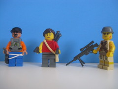The survivalists. Part 1 (Kelly Solo) Tags: army lego brickarms