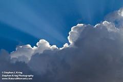 Thunderhead and Sunbeams (Stephen Krieg Photographics) Tags: arizona clouds flagstaff sunbeams monsoonseason