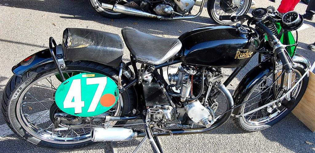 THE RUDGE MOTORCYCLE. UK.