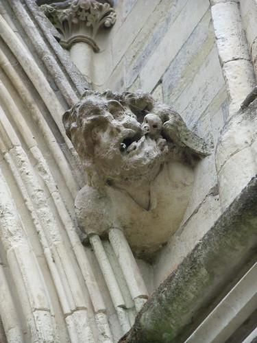 Salisbury Cathedral gargoyle