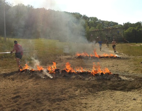 Warrior Fires and Cargo Climb, Warrior Dash Ontario