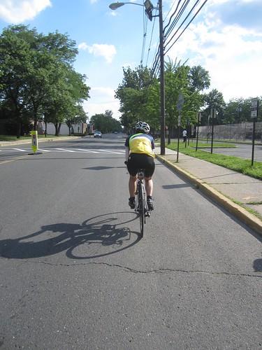 Yiping taking us into the finish, great job Yiping!