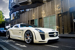 FAB Design SLS (Thomas Saunders) Tags: fab london mercedes design ferrari arab porsche lamborghini sls supercars pagani 2011 worldcars