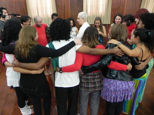 Grupo unido antes do ínicio by Silvana Abreu