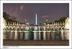 Washington Monument from World War II Memorial