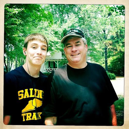dad & patrick