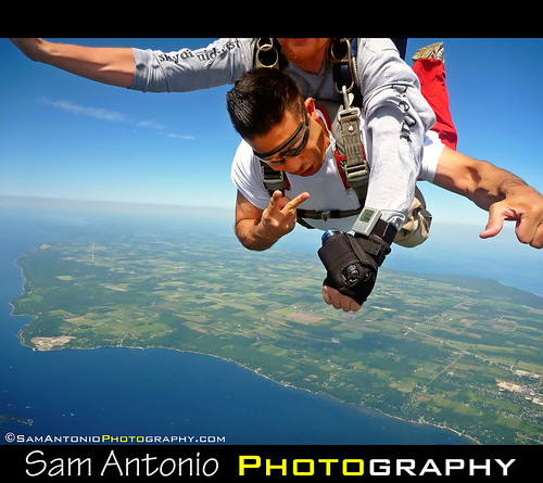 Getting High over Door County, Wisconsin by Sam Antonio Photography
