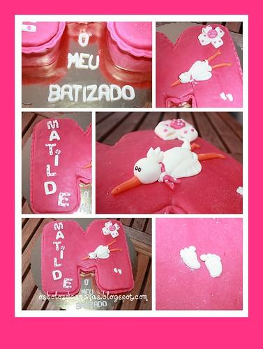 Detalhes Bolo Batizado da Matilde by Osbolosdasmanas