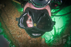 Self portrait on James Eagen Layne (zadok priest) Tags: west canon eos james divers weekend country dive plymouth scuba diving fisheye tokina 7d bsac padi wreck exploration rite layne hms scylla eagen ikelite 1017mm