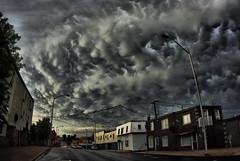 Math street clouds (Robashev) Tags: cloudporn mammatus