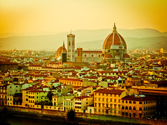 """Florence looks like gold and smells like sulphur... (Lilla~Rose) Tags: sunset italy holiday vintage gold florence italia memories like memory tuscany dome looks novel firenze sulphur duomo arno processed medici villas cliche smells botticelli brunelleschi giotto uffizzi palazzovecchio riverarno hcs giottoscampanile iltramonto marinafiorato happyclichesaturday"