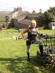 YORKSHIRE DALES 23 (shinyimage.worldtravel) Tags: woman alex leather fetish shiny dress boots yorkshire vinyl belts rubber plastic glossy gloves latex gummi raincoat macs rainwear kinky catsuit dales pvc waterproof jumpsuit botas pu plastique maddison thighboots mackintosh stiefel wetlook sbr regenmantel impermeables lackmantel