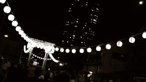 Bon dance festival