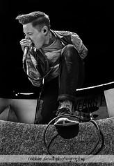 The Devil Wears Prada Warped tour 2011 Detroit, MI 5 (Robbie Small) Tags: park music art tattoo photography tour guitar michigan live small detroit band sigma warped fisheye sing scream singer devil vans wears prada robbie comerica 10mm screamer 2011 wixcom