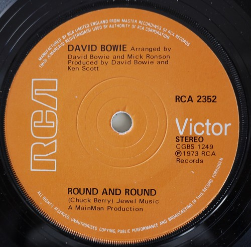 David Bowie - Round and Round