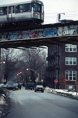 Jo how they do that? (Billy Danze.) Tags: old school chicago graffiti alone cove cya