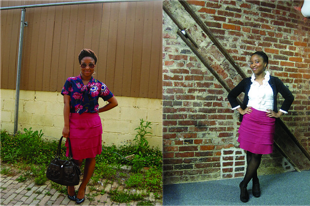 Fuschia Skirt - Now and Later