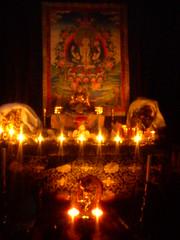Padmapani's night shrine