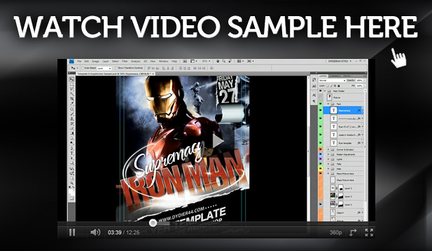 Video Sample Flyer 6