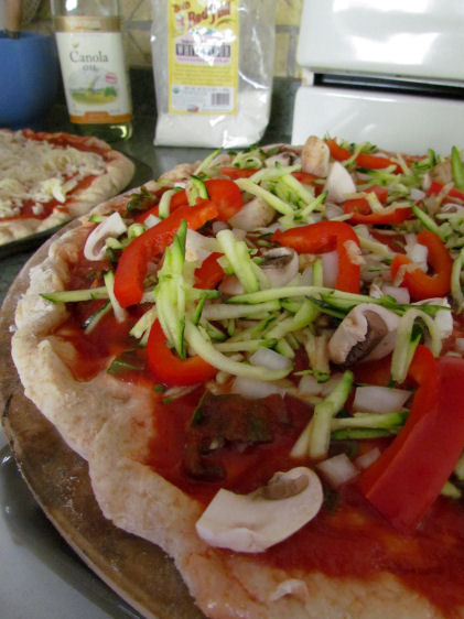 Vegetable Toppings for Homemade Pizza