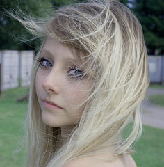 (ClaudiaJR) Tags: blue woman beautiful hair eyes long young blond ethereal angelic