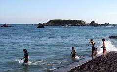 Swimming at Green Island