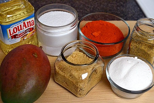Ingredients for Avakaya
