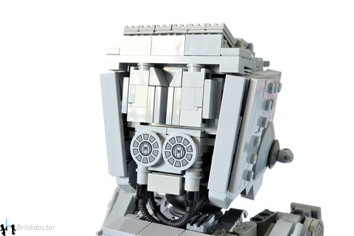 AT-ST - Head Rear