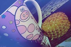 Desayuno 19 Julio 2011 (electricsbubbles) Tags: blue cookies azul breakfast table grande milk chocolate lo que julio te desayuno 19 leche colacao hace nesquick mantel galletas 2011 marilú marielu marilue
