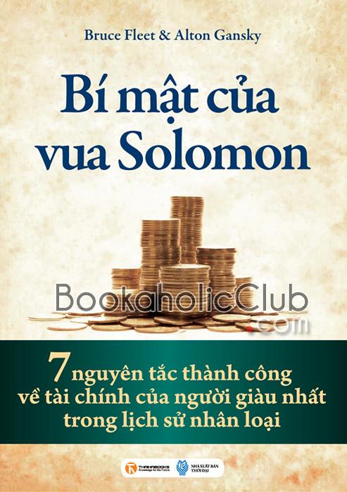 BÍ MẬT CỦA SOLOMON - Bruce Fleet, Alton Gansky