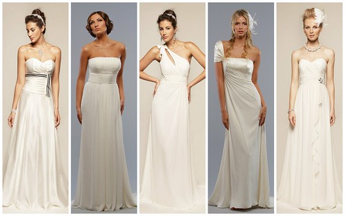 Elegant Beach Wedding Gowns by Liz Fields by Nina Renee Designs