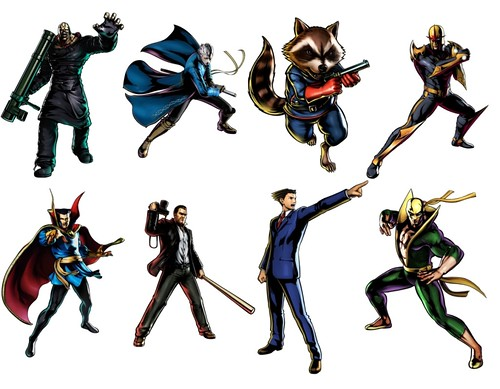 Ultimate Marvel Vs Capcom 3 Characters - Leaked Roster