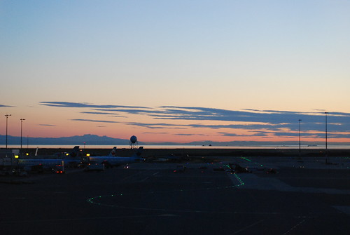 Sunset at YVR