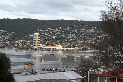 The casino in Hobart