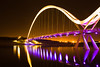 Infinity Bridge | Reflections (capturedcanvas.co.uk) Tags: bridge urban lake reflection night river lights nightshot bright infinity middlesbrough stockton 450d