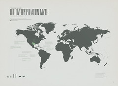 The Overpopulation Myth (jtlsyy) Tags: columbiariver population worldmap myth infographic overpopulation pseudoscience stateoftexas jtlsyy overpopulationmyth