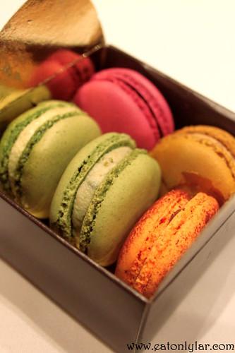 Assorted macarons, Les Plaisirs de Marie Antoinette