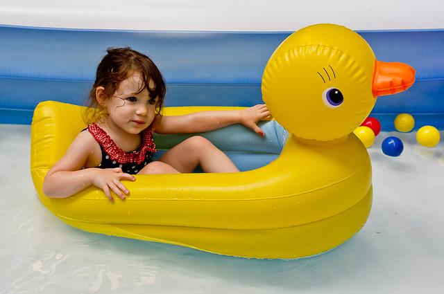 201/365 - July 20, 2011 - Rubber Duckie