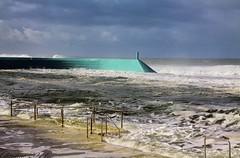 Pool!!!  What Pool. (chriseagle) Tags: ocean waves pools newcastleoceanbaths bigseas