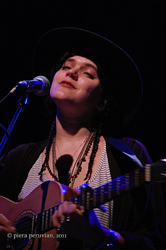 Soko performing at The El Rey Theatre
