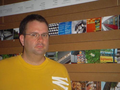 Me at the Fotomarathon exhibition